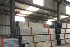 Steel Purlins packed by steel frame