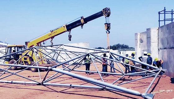 steel structure contractor