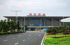 Quality Prefabricated Railway Station Steel Frame Structure With Space Frame Roof