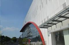 Middle School Indoor Stadium Pipe Truss Project