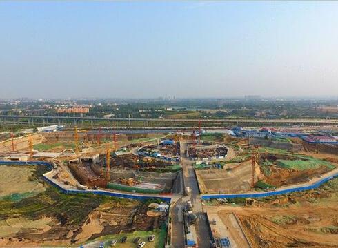 郑州市民活动中心详细图