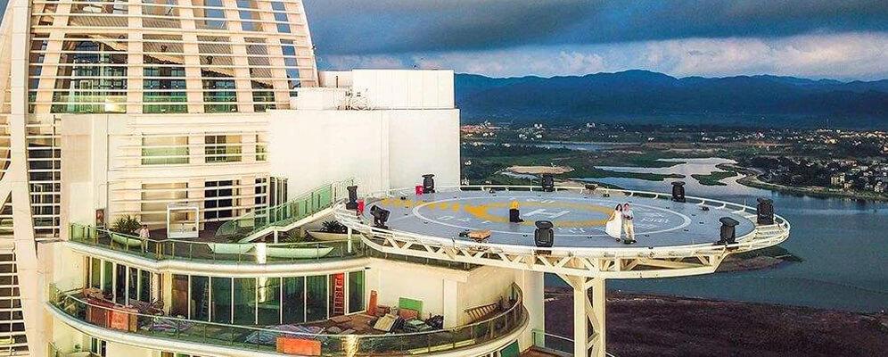金沙大酒店停机坪优势图