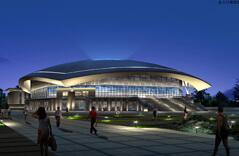 Space Frame Stadium Design