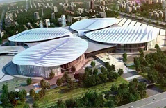 Shanghai National Convention and Exhibition Center Project