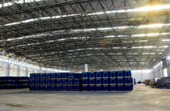 Large-span Steel Structure Logistics Warehouse Project