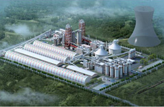 Comprehensive Solid Waste Utilization Project Steel Space Frame Structure Barrel Storage Project