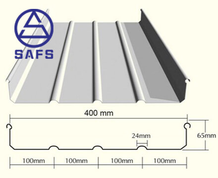 Aluminum Alloy Standing Seam Roofing System