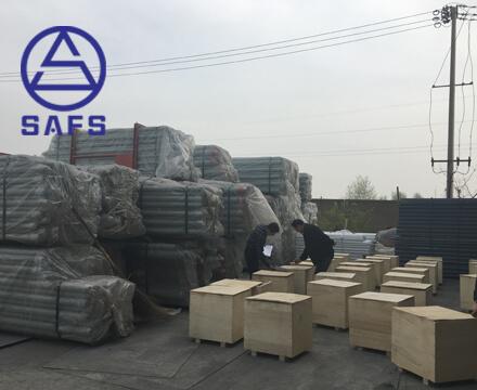 Gypsum Storage Shed