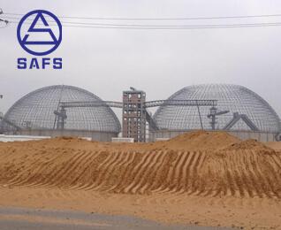 Dome Coal Stock Yard