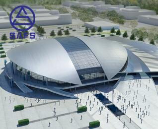 Multi Functional Stadium Building