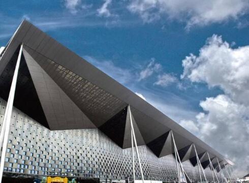 Steel structure exhibition hall case0