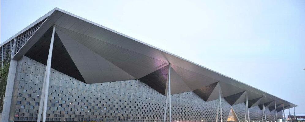 Steel structure exhibition hall case3