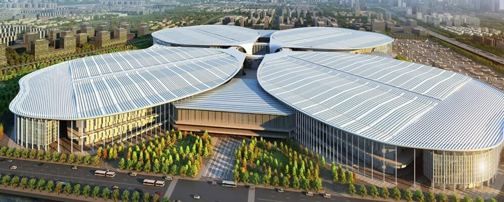 steel structure exhibition hall roof0