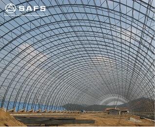 space frame coal yard