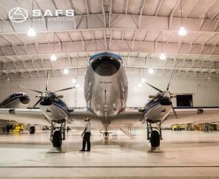 Quality Assurance Prefab Modern Hangar Metalique Light Steel Construction Aircraft Hangar