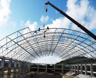 Prefabricated Steel Structure Stadium Roof