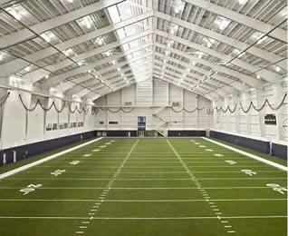 Portal Steel Structure Indoor Gymnasium