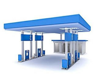 Gas Station Roof Design