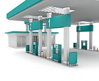 Petrol Station Canopy Design