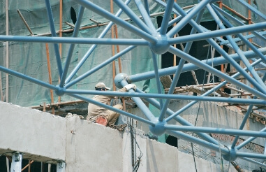 Effective ways to reduce welding deformation of space frame structure