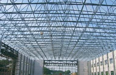 Ventilation treatment measures of space frame structure workshop