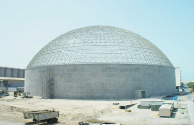 How to prevent the deviation of the installation size of the spherical space frame structure?