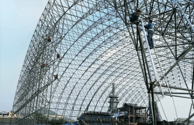 Optimized parts of space frame processing drawings